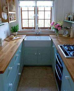 malé kuchyně